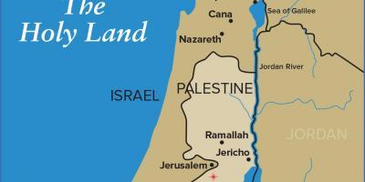 Israel Karte.Jerusalem Karte Karten Jerusalem Israel