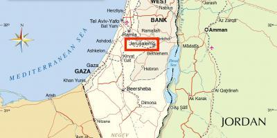 Israel Jerusalem Karte.Jerusalem Karte Karten Jerusalem Israel